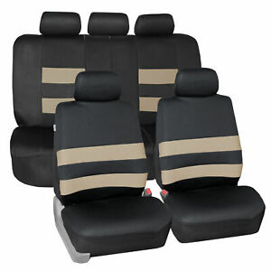Universal Fit Seat Covers Neoprene For Car Suv Van Truck Full Set 9 Colors