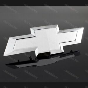 Chevy Chevrolet Colorado Bow Tie For 2015 2017 Front Grill Bowtie Emblem White