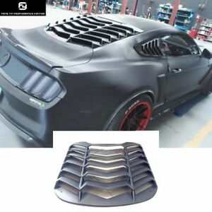 Abs Shutter Car Rear Windshield For Ford Mustang Body Kit 15 17 Auto Trim Supply
