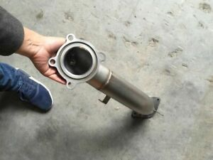 2 0t 3inch Catless Downpipe Exhaust Pipe Tube Muffler Automotive For Cadillac