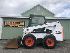 2014 Bobcat S630 Skid Steer Loader Enclosed Cab Heat Low Hours Cheap Shipping