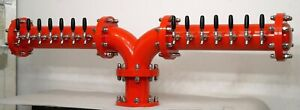 Draft Beer Tower D arc y Glycol Cooled 12 Faucets Commercial bwtap