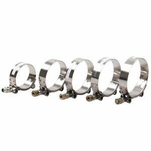 T Blot 2inch 2 25inch 2 5inch 2 75inch 3inch Exhaust Pipe Tube Clamps Auto Parts