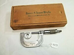 Brown And Sharpe No 48 Machinists 1 2 Micrometer Setting Standard