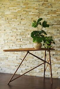 No 40 National Washboard Co Ironing Board Antique Iron Board Console Table