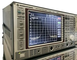 Rohde Schwarz 9khz 7ghz Rf Spectrum Analyzer Noise Figure Meter