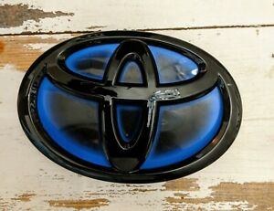 Ppg Automotive Painted Gloss Black Toyota Hybrid Emblem