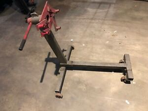 Deluxe Engine Stand 750lb Pro Hoist Automotive Pro lift Rotating 4leg Type Motor