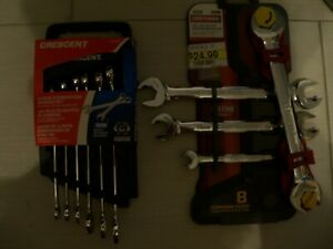 Craftsman Metric Mm Open End Ratcheting Wrench Set 4 Pcs Part 21937 6