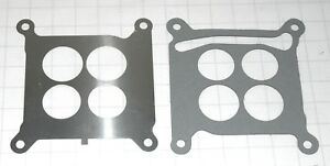1965 67 Chevelle Amp Chevy Holley Base Plate To Intake Gasket Amp Ss Baffle