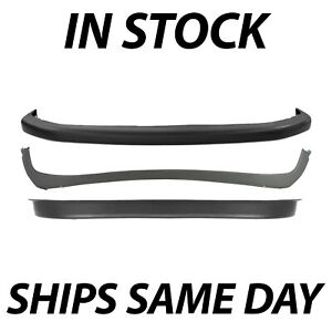 New Front Bumper 3 Piece Combo Kit Set For 1994 2002 Dodge Ram 1500 2500 3500 Fits More Than One Vehicle
