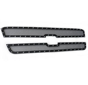 Chevy 2003 06 Avalanche 2005 Silverado 1500 Upper Rivet Mesh Grille Grill Insert