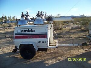 2001 Terex amida Al4060d 4mh Light Tower