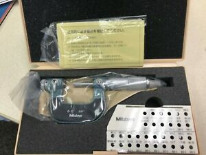 Mitutoyo 0 1 Range Screw Thread Micrometer Ratchet Stop 126 137 New