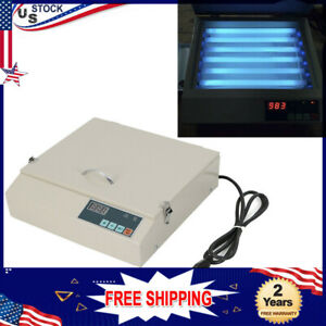 Small Drawer Precise Vacuum Exposure Unit Screen Printing Machine Drying Plate