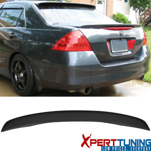 Fits 06 07 Honda Accord 4dr Sedan Oe Factory Style Abs Trunk Spoiler Wing