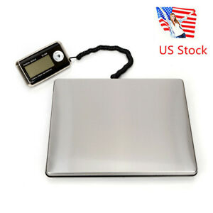 Us Brand New 150kg 100g Portable Stainless Steel Digital Postal Scale Silver