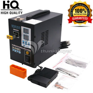 737g Spot Welder 1 5kw Led Welding Machine No Pen For 18650 Battery 110v 220v s