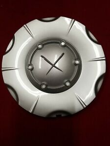 Exel X Silver Stock Custom Wheel Center Cap Hub Part Abs 5 7 8 O D Xxx X