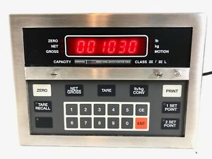 Condec Programmable Digital Weight Indicator Umc600aaac Rice Lake New