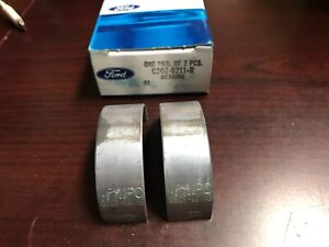 Nos 1965 1966 1967 1968 Ford Mustang 260 289 302 V8 Connecting Rod Bearings Std