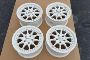 Blitz Type 01 16x8 5x114 3 Jdm 5 Lug Wheels Rims White Jdm Rebuilt Refinished