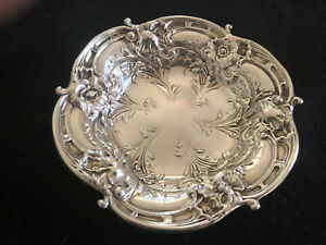 Reed Barton Sterling Silver Repousse Bowl