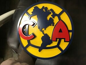 Custom Hitch Cover Club America Painted Stainless