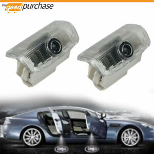 2x Led Door Light Car Ghost Courtesy Welcome Logo Light For Infiniti Q50 Sedan