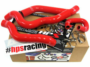 Hps Silicone Radiator Hose Kit For Chevy 08 10 Cobalt Ss 2 0l Turbocharged Red