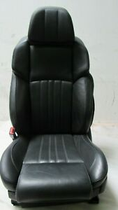 2013 2016 13 Bmw F10 550i 535 M5 Front Left Driver Leather Seat Merino Black Oem