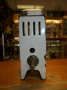 Vintage White Porcelain Gas Space Bathroom Heater