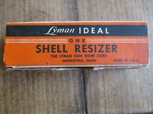 Lyman Ideal 2520 Caliber Shell Resizer Reloading Accessory FL