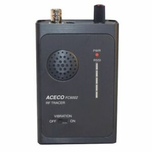 Professional Bug Detector With Strength Meter For Audio video Items Up To 3 Ghz