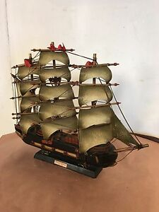 Model Ship 18 X15 Vintage Fragata Espanola A1780 C12pix4size Details Make Offer