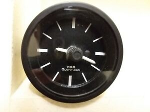 Vintage Bmw Quarz Zeit 12 Volt Vdo Clock Airhead R90s R100s R100rs Works Great