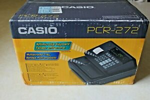 Brand New Casio Pcr 272 Electronic Cash Register