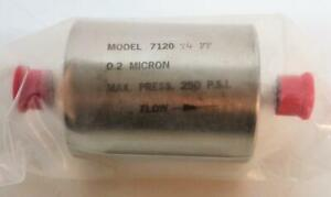 Praxair Prostar 7120 t4ff 0 2 Micron Gas Fuel Filter Lot Of 2 6816
