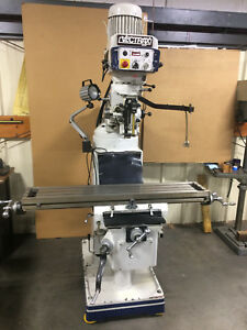 Vectrax 3 Phase Knee Milling Machine Gs16f 9 x 49 Table