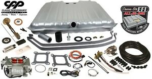 1969 Camaro Fitech 30003 Efi Fuel Injection Gas Tank Fi Conversion Kit 90 Ohm