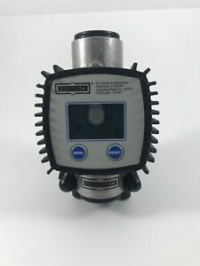 Rouchneck Digital Fuel Meter 1in Inlet outlet 3 26 Gpm 145 Psi