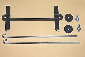 New Battery Universal Hold Down Bracket Cross Bar And 2 10 J Bolts