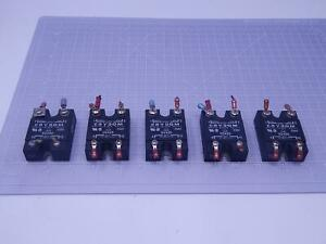 Lot Of 5 Crydom D2440 Solid State Relays 240 V 40 A T129616