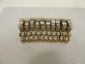 Lot Of 10 Omron G2r 2 sn Power Relay T71148