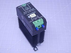 Crydom Hpf240d20 Solid State Relay In 4 32 Vdc Out 120 240 Vac 20 A T123064