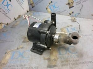 Iwaki Rd 40xe24 hv 70 L min 24 Vdc 5 3 A Direct Drive Seal less Pump