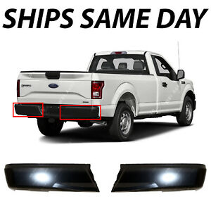 Brand New Primered Steel Left Right Rear Bumper Ends 2pc For 2015 2020 Ford F150