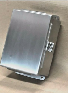 8 X 6 X 4 0 Industrial Wall Mount Enclosure Nema 4x 304 Stainless Steel