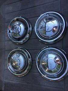 4 Chevrolet Corvair Gm Dog Dish Poverty Hub Cap Used Gm