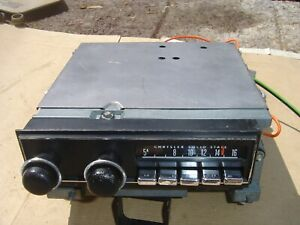 Dodge Plymouth Mopar E Body Am Radio Cuda Challenger 1972 73 74 71 70 Barracuda
